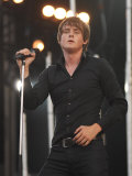 Tom Chaplin of Keane on Stage at the 2007 Isle of Wight Festival