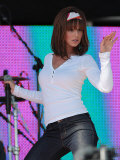 Cheryl Cole  Girls Aloud Performing at T4 Party on the Beach  Weston Supermare