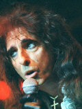 Alice Cooper Singer Live on Stage at the Barrowlands  Glasgow  June 1997