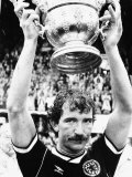 1989 Graeme Souness Rangers and Scotland Football Player with Sir Stanley Rous Trophy