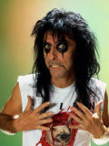 Alice Cooper American Pop Singer October 1986