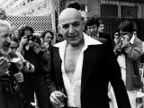 Telly Savalas Greek Actor at Cannes 1977