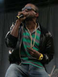 Kanye West on the Main Stage at the 2007 V Festival  Chelmsford