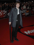 Ricky Wilson from Kaiser Chiefs Arrives at the Brit Awards 2007 14th February
