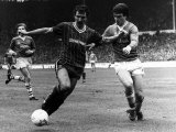 Graeme Souness of Liverpool Beats Kevin Ratcliffe 1984