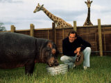 John Cleese at Safari Park June 1974