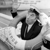 Frankie Howerd Sailing Into the Sunshine For Christmas on Royal Mail Liner &quot;Andes&quot; from Southampton
