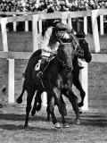 Ribocco Wins the 1967 St Leger Race at Doncaster September 1967