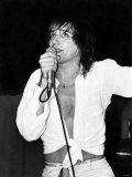 Scottish-Born Rock Singer Rod Stewart During One of His Concerts at Bel-Vue  Manchester