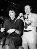 Leonard Rossiter Actor with Joan Collins in Cinzano Advert