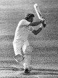 Ian Botham Batting For England V Pakistan  August 1982