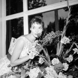 Italian Actress Elsa Martinelli Pictured at the Savoy Hotel in London