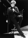 Liza Minnelli Singer Actress on Stage at the London Palladium 1986