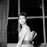 Italian Actress Elsa Martinelli at the Savoy Hotel in London