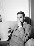 French Actor Louis Jourdan March at Claridges Hotel in London