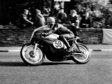Griff Jenkins  Winner of the Senior Manx Grand Prix at Speed September 1963
