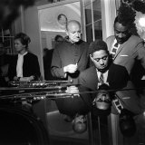 Dizzy Gillespie at Fort Belvedere Near Ascot  with Buck Clayton and Bud Freeman
