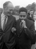 Dizzy Gillespie Jazz Man July 1963 at Fort Belvedere Near Ascot