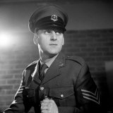 Actor John Thaw Starring as Sgt John Mann in ABC Production &quot;Redcap&quot; For BBC TV
