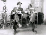 George Cole as Arthur Daley and Dennis Waterman as Terry Mccann from the Television Series Minde