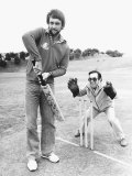 Ronnie Corbett and Peter Willey During England's Cricket Tour of Australia  1979-1980