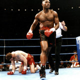 Lennox Lewis Knocks Down Glenn Mccrory