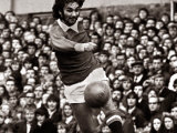 George Best Football Player - in Action For Manchester United Against Wolverhampton Wanderers