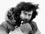 Sir Ranulph Twistleton Wykeham Fiennes Explorer at North Pole at Easter