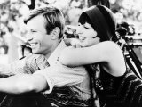 "Liza Minnelli with Actor Michael York in the Film ""Cabaret""  May 1972"