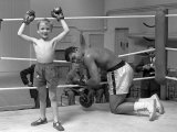 Cassius Clay aka Muhammad Ali During Training For Heavyweight Title Fight Against Henry Cooper