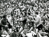 FA Cup Semi Final Chelsea vs Watford Chelsea's Dave Webb Celebrates After Scoring Goal
