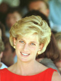 Princess of Wales Visits Rehabilitation Centre in Sydney November 1996