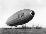Launch of the Vickers R80 Airship at Barrow  on 19th July 1921
