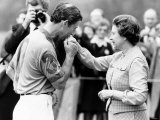 Prince Charles Kisses Hand of Mother Queen Elizabeth II After Presented with a Consolation Prize