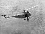Royal Air Force Coastal Command Rescue Helicopters in Action