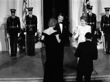 Princess Diana and Prince Charles with Ronald Reagan and Nancy Reagan at the White House