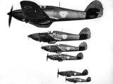 RAF Hawker Hurricanes  March 1938