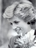 Princess Diana of Wales Visiting the Age Concern Day Centre in Durham