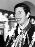 Prince Charles Being Installed as Great Master of the Order of the Bath May 1975
