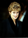 Princess Diana at the Relaunch of Birthright Charity November 1993