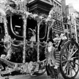 Queen Elizabeth I1 and Prince Philip June 1977 on Their Way to St Pauls For Thanks Giving Service