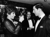 Shirley Bassey Singer Meeting Prince Charles November 1979