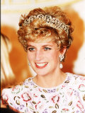 Princess of Wales in Korea Princess Diana November 1992
