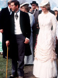 Prince and Princess of Wales at Barbeque at Edmnoton Park During Canadian Tour June 1983
