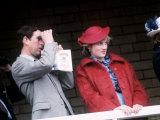 Princess Diana and Prince Charles at the Grand National