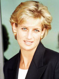 Princess Diana Arrives in Luanda Angola January 1997