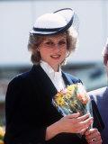 Princess Diana at Warrington May 1984