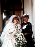 Wedding of Prince Charles and Lady Diana Spencer Arriving at Buckingham Palace July 1981