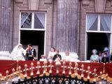 Prince Charles Kisses Diana's Hand at Buckingham Palace July 1981