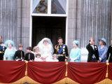 Royal Wedding Prince Charles and Princess Diana at Buckingham Palace